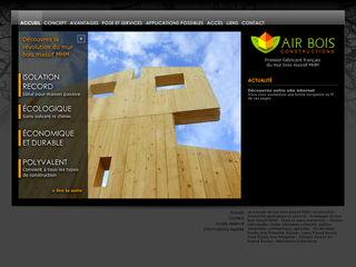 Air bois construction fabricant mur bois pour maison cologique jura haut doubs franche comt for Construction bois en franche comte